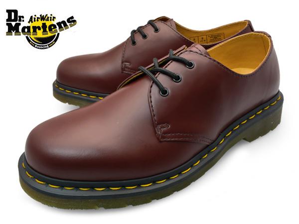 【送料無料】Dr.Martens 1461-11838600CHERRY RED 3EYELET SHOES GIBSONドクターマーチン 3ホール シューズ ギブソンメンズ オックスフォード チェリー レッド 靴 くつ
