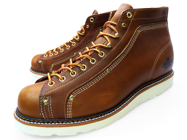 ba6ce0ed606 THOROGOOD ROOFER BOOTS 814-4233 LACE TO TOE ROOFER Thorogood by mens Rafer  boot Vibram sole work boots monkey boots