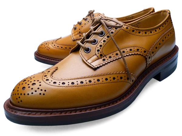 TRICKER'S BOURTON ACORN ANTIQUE M5633 トリッカーズ カントリーブローグシューズ ウイングチップ エイコーン・アンティーク ダイナイトソール TRICKERS 【送料無料】 靴 くつ ギフト