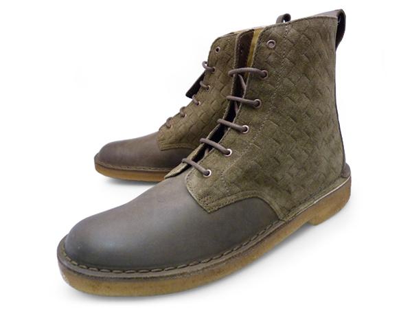クラークス デザート ベロア ダーク グリーン レザー UK規格 ( CLARKS DESERT VELOUR 20352237 DARK GREEN LEATHER UK ) くらーくす メンズ(男性用) 靴 ブーツ シューズ ブランド 本革 送料無料 あす楽