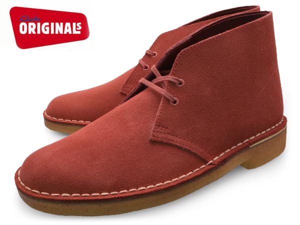クラークス デザートブーツ メンズ UK規格 CLARKS DESERT BOOT 超目玉 20357906 Chili SUEDE UK スウェード ブーツ オンライン限定商品 靴 送料無料 本革 あす楽 スエード くらーくす シューズ チリ