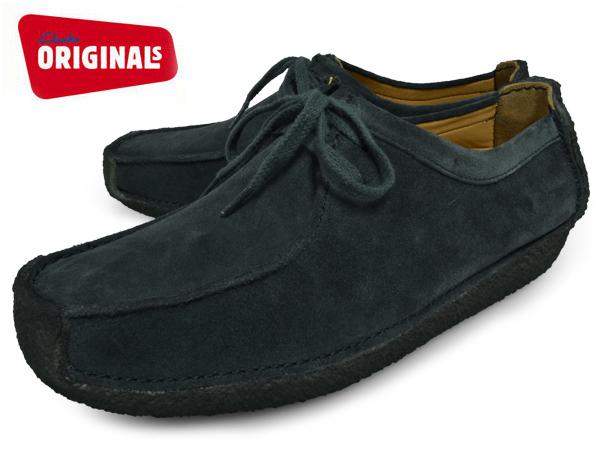 克拉克斯娜塔莉 · 海军麂皮英国标准 (克拉克斯娜塔莉 26103972 海军绒面革英国) 樱花挠痒痒男装 (男性) 皮鞋休闲鞋品牌