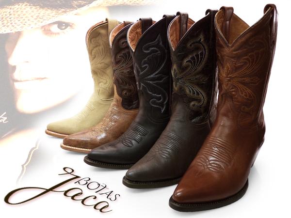 为哈卡女士腿部西部靴牛仔靴中间 BOTAS 萨拉戈萨 BOTAS 靴女牛仔绣十字绣品牌