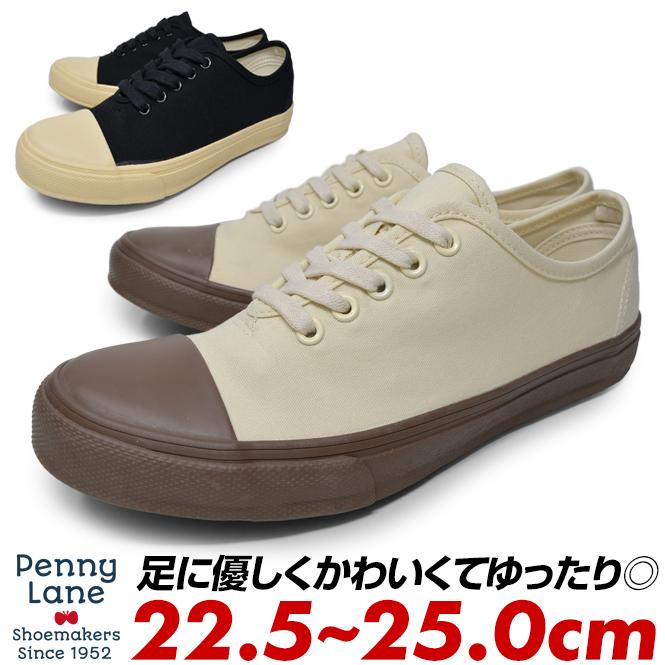pl-3160 3160 小さいサイズ 大きいサイズ キッズ ジュニア ご注文で当日配送 すにーかー ペニーレイン PENNY LANE 靴 スニーカー レディース 白 キャンバス シューズ 23.5cm ローカット 紐靴 新品 送料無料 23cm 25cm 24.5cm 24cm 履きやすい 22.5cm 黒