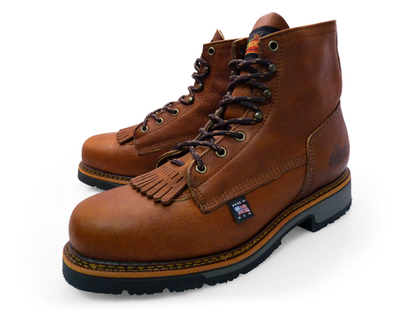 54c3d1ceccb THOROGOOD 6 AMERICAN HERITAGE SAFETY TOE BROWN 804-4820 LEATHER Thorogood  by 6-inch American heritage safety to work boots brown leather mens boots  ...