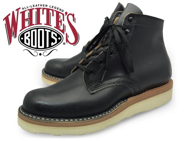 White's Boots 2332CC BLK CHRMXL ホワイツ ブーツ 2332CC ブラック クロームエクセル 5インチ Eワイズ BLACK CHROME EXCEL ビブラムソール ワークブーツ レースアップブーツ ブランド