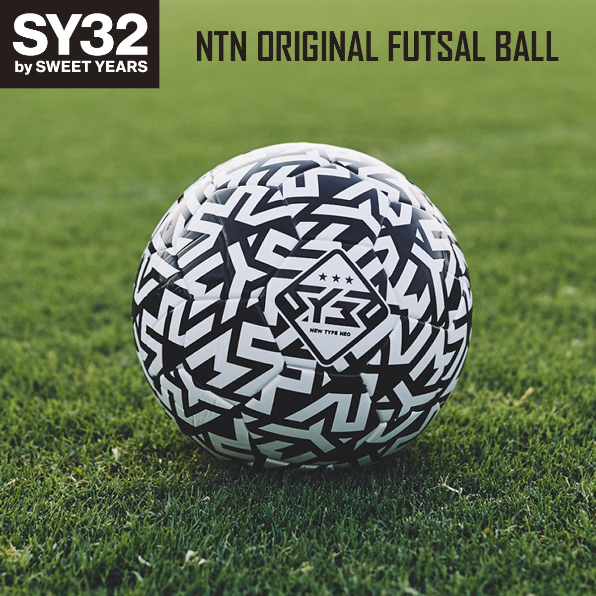 SY32オリジナルフットサルボール 4号球 フットサルボール NEW TYPE NEO NTN ORIGINAL FUTSAL by セール価格 SWEET ついに再販開始 BALL SY32 Official 9196 エスワイサーティトゥバイスウィートイヤーズ YEARS オフィシャル