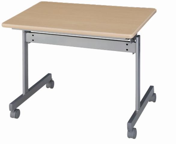 折りたたみテーブル 平机 キャスター付き 学習机 学習塾 ミーティングテーブル オフィスデスク 会議テーブル フォールディングテーブル セミナー KS-9060 LOOKIT オフィス家具 インテリア