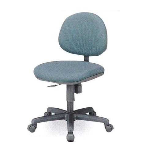 【法人限定】オフィスチェア 肘なしタイプ 布張りチェア デスクチェア キャスター付きチェア PCチェア オフィス家具 事務所 会社 施設 DP-5N
