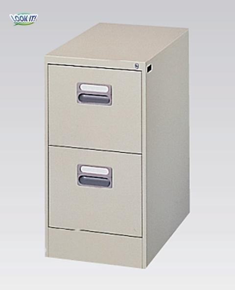 ファイリングキャビネット A4サイズ 書庫 棚 収納 整理 A4-2N LOOKIT オフィス家具 インテリア