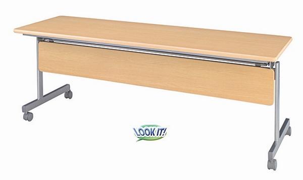 スタックテーブル 150cm 折りたたみ 受付 打合せ 机 KS-1545M ルキット オフィス家具 インテリア