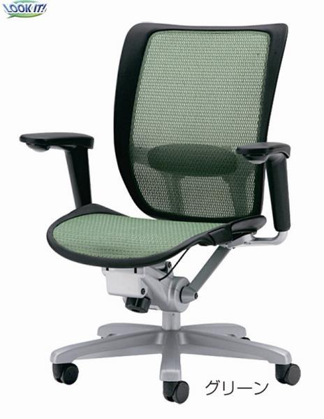メッシュチェアー 回転椅子 イス オフィス ロッキング