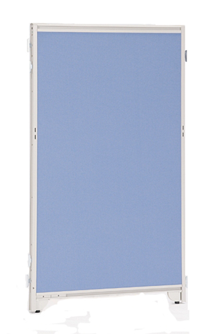 自立パーティション W700×H1035mm 安定脚付 パネル パーテーション スクリーン 衝立 ついたて 間仕切り クロス 布 PK-0710S YPKシリーズ ルキット オフィス家具 インテリア