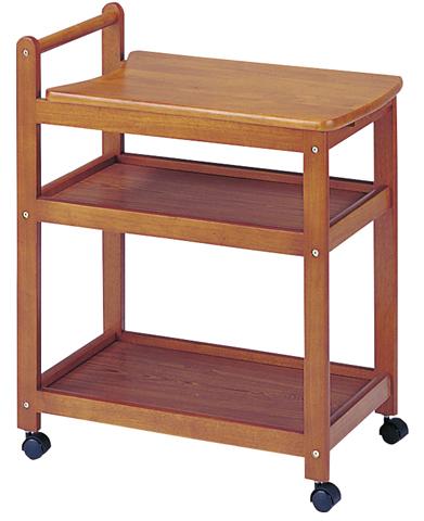 キッチンワゴン 食器棚 収納 キャスター付 チェスト 棚 KW-650S ルキット オフィス家具 インテリア