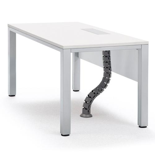 ★送料無料★ フリーアドレステーブル オフィス デスク ワークテーブル ホワイト FAW-1470 LOOKIT オフィス家具 インテリア