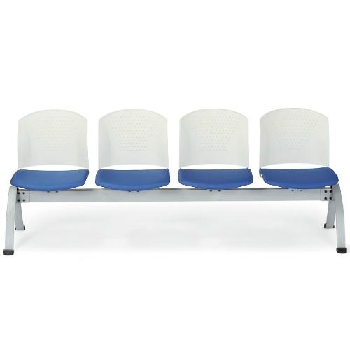 【最大1万円クーポン6/4 20時~6/11 2時まで】送料無料 ロビーチェア 4人掛け ベンチ イス 椅子 いす LC-304WG LOOKIT オフィス家具 インテリア