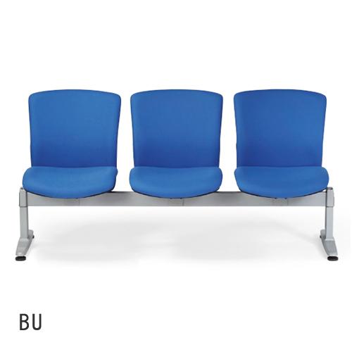 ロビーチェア 3人掛け ウェイティングベンチ 長椅子 ロビーチェア 腰掛け エントランスベンチ トレーニングベンチ 3人用 病院 福祉施設 LC-683-F 送料無料 ルキット オフィス家具 インテリア