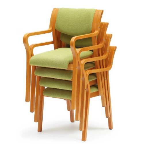 ダイニングチェア MW-310F 椅子 イス 完成品 いす 送料無料