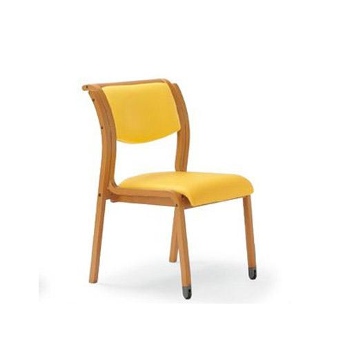 ダイニングチェア MW-313V 木製 木目 スタック 椅子 送料無料