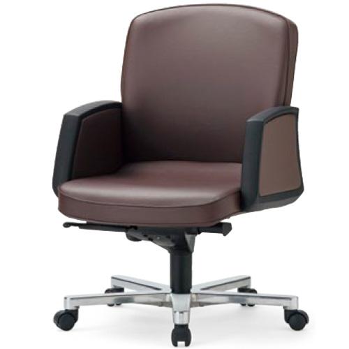 エグゼクティブチェア 会議室 肘付き 椅子 RA-3115 送料無料 LOOKIT オフィス家具 インテリア