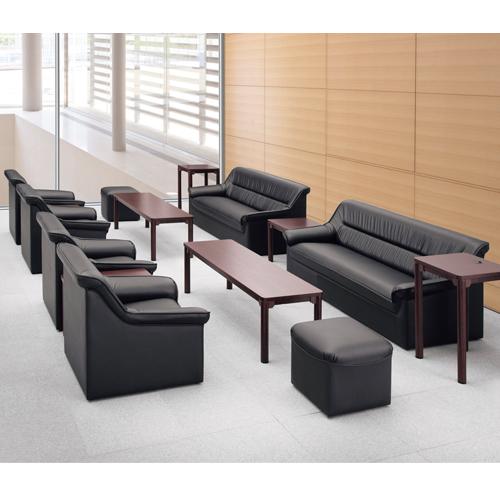 応接セット4点セットビニールレザーソファーセット応接ソファー応接椅子応接テーブル応接用家具応接室オフィスホテルロビーRE-1053S送料無料