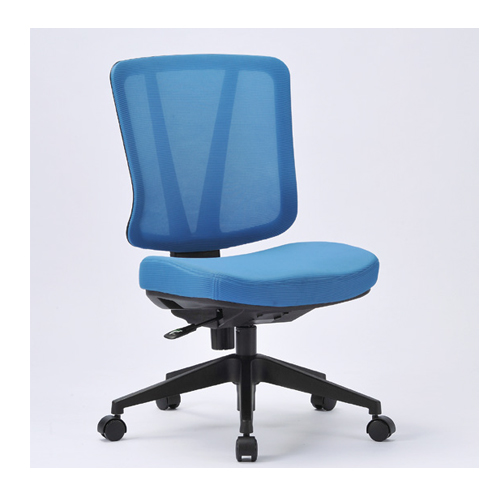 オフィスチェア 送料無料 肘なしチェア メッシュチェア ミーティングチェア 事務椅子 オフィス家具 キャスター付きチェア チェア 椅子 事務所 KS-1000