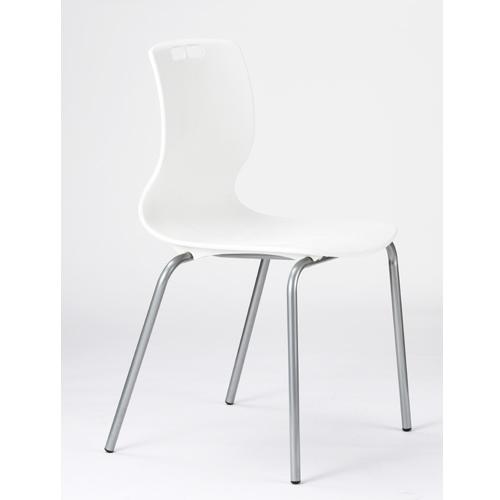ミーティングチェア 送料無料 ヌードタイプ 固定脚 4本脚 シンプルチェア 肘なしチェア オフィス家具 スタッキングチェア チェア 椅子 MC-463