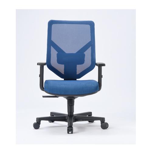 オフィスチェア 肘付き 送料無料 ヘッドレストなしタイプ メッシュチェア デスクチェア ミーティングチェア オフィス家具 会議室 MS-1215
