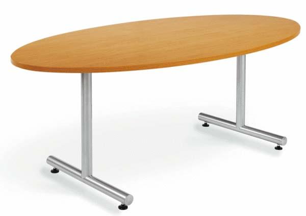 ★送料無料★ 会議テーブル 変形 タマゴ 楕円形 丸型 丸形 MTS-1890E ルキット オフィス家具 インテリア