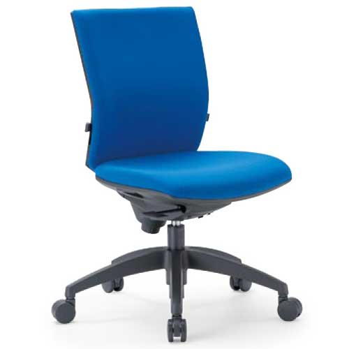チェア ローバック キャスター付 布張り ビニールレザー張り 10色展開 ランバーサポート 回転イス オフィスチェア 事務用椅子 OS-2205 送料無料 LOOKIT オフィス家具 インテリア