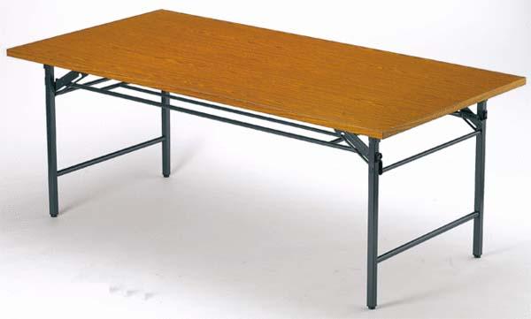 折り畳み会議テーブル 進学塾 シンプル 作業台 T-1260 ルキット オフィス家具 インテリア