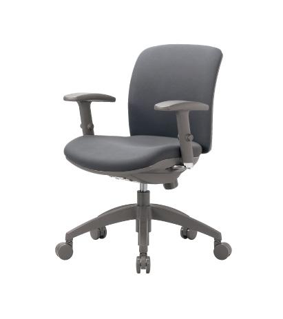チェア ローバック 可動肘付 キャスター付 布張り ビニールレザー張り 11色展開 ロッキング機構 回転イス オフィスチェア 事務用椅子 OA-2115AJ 送料無料 ルキット オフィス家具 インテリア