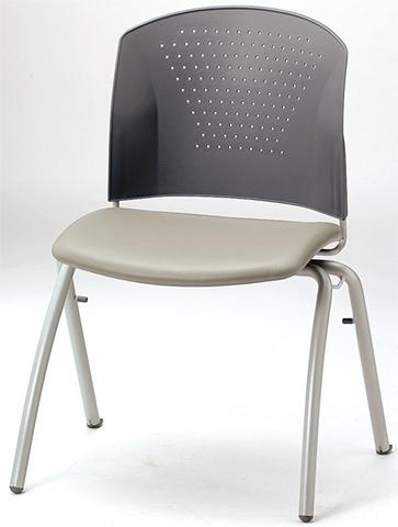 【法人限定】スタッキングチェア カラフル いす イス 椅子 激安 机 MC-304WG 送料無料 LOOKIT オフィス家具 インテリア
