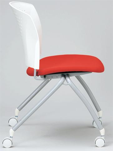 スタッキングチェア 会議用 打合せ いす イス 椅子 MC-324WG 送料無料