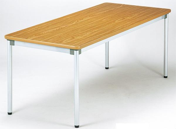 会議テーブル W1800mm ワークテーブル つくえ AS-1875 送料無料 ルキット オフィス家具 インテリア