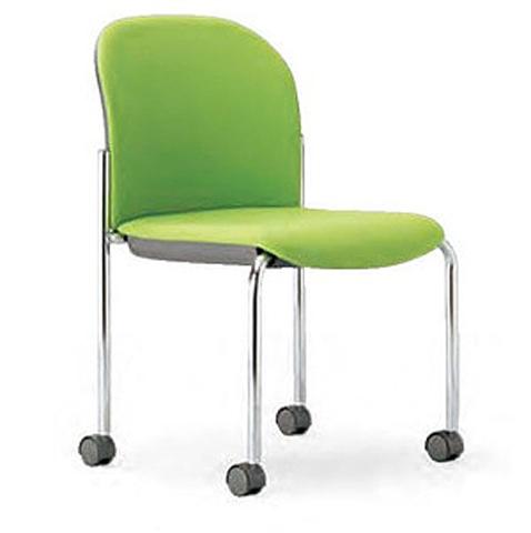 スタッキングチェア 椅子 スタッキング キャスター付き MC-862 送料無料