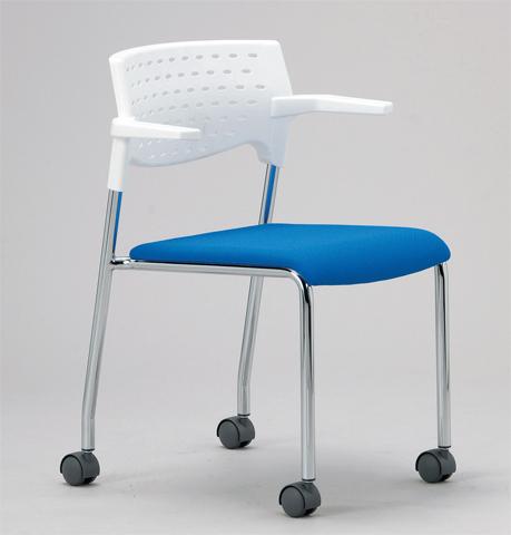【法人限定】ミーティング チェアー カラフル いす イス 椅子 激安 MC-232WG LOOKIT オフィス家具 インテリア