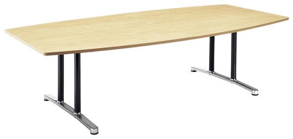 会議テーブル WAL-2412B つくえ ミーティング 高級 ルキット オフィス家具 インテリア
