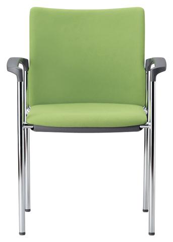 スタッキングチェア MC-891 いす イス 椅子 肘掛 打合せ 送料無料