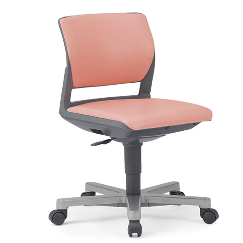 ミーティングチェア 布張り レザー 椅子 MC-257WG 送料無料 LOOKIT オフィス家具 インテリア
