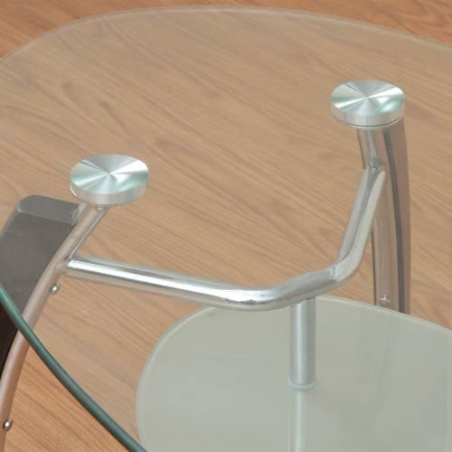センターテーブル ガラステーブル アーク TT554 ルキット オフィス家具 インテリア