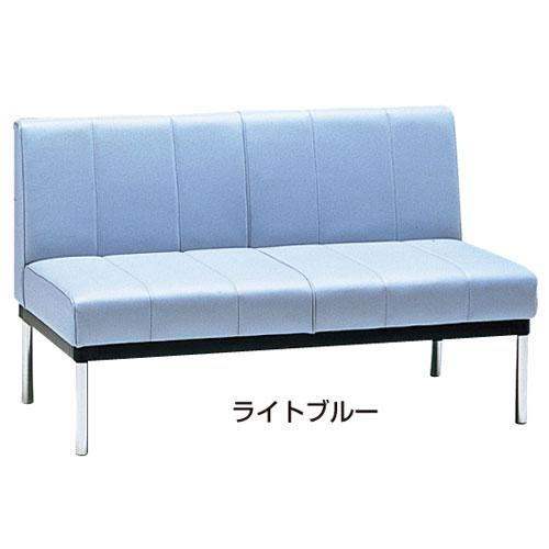 ロビーチェア 2人用 W1100mm 長椅子 ソファ SL22-B ルキット オフィス家具 インテリア