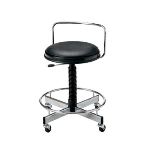 スツール 丸イス 丸椅子 いす キャスター付 TD-16LN LOOKIT オフィス家具 インテリア