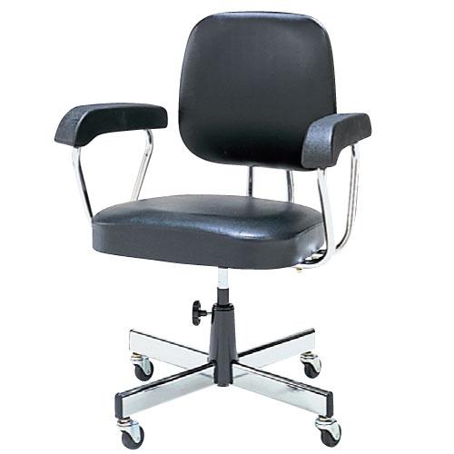 チェア 椅子 イス 肘付き キャスター レザー T-260C ルキット オフィス家具 インテリア