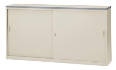 ハイカウンター NSH-18S 受付台 記載台 インフォメーション 引戸書庫 キャビネット ロッカー 備品 収納庫 オフィス家具