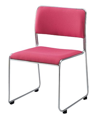 【全品P5倍6/10 13時~17時&最大1万円クーポン6/11 2時まで】スタッキングチェア シンプル 横連結 椅子 SKS-615CN LOOKIT オフィス家具 インテリア
