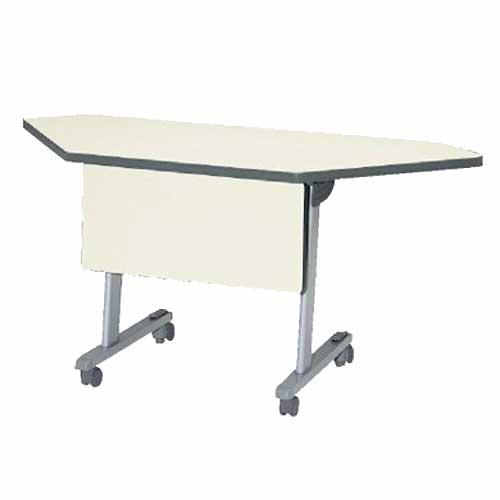 フォールディングテーブル STA-45MS 幕板付き 机 ルキット オフィス家具 インテリア