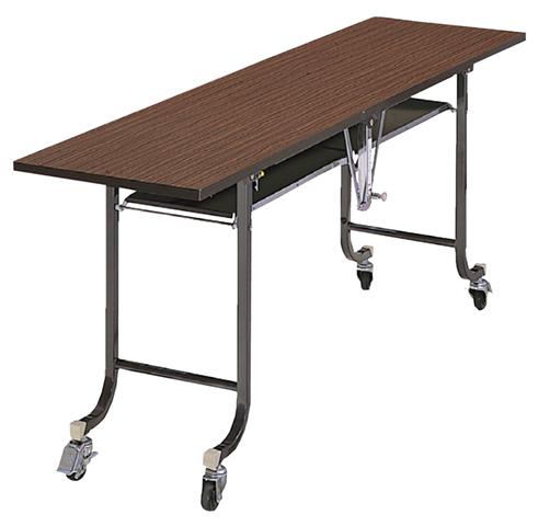 【最大1万円クーポン5/20限定】フライトテーブル FSM-1 中折れ式 折り畳み式 長机 LOOKIT オフィス家具 インテリア