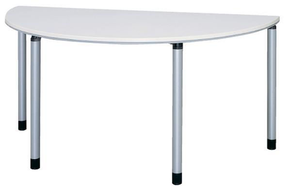 会議テーブル 半円 ミーティングテーブル 会議用テーブル 半円テーブル ET-1575R LOOKIT オフィス家具 インテリア