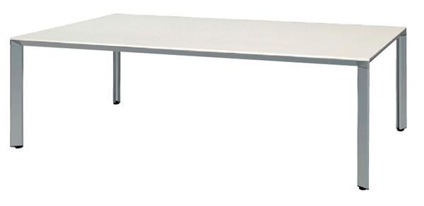 ★新品★会議テーブルホワイトシンプル大型デスクATS-2412